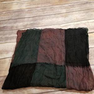 Naf Naf Color Block Tissue Scraf